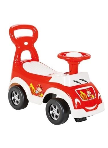 Pilsan Pilsan Sevimli İlk Arabam - Bebek Yürüme Yardımcısı - İlk Adım Yürüme Yardımcısı Kırmızı